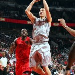 Jeremy Lin plays against the Chicago Bulls on Dec. 25, 2012.