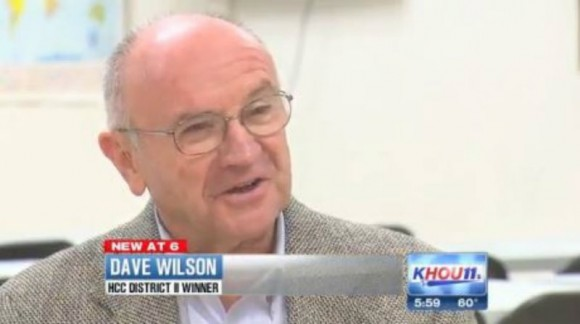 Houston, Texas, politician Dave Wilson implied that he was black in order to win votes.