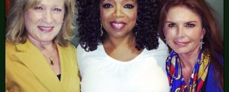 Kay Warren, Oprah Winfrey and Roma Downey.