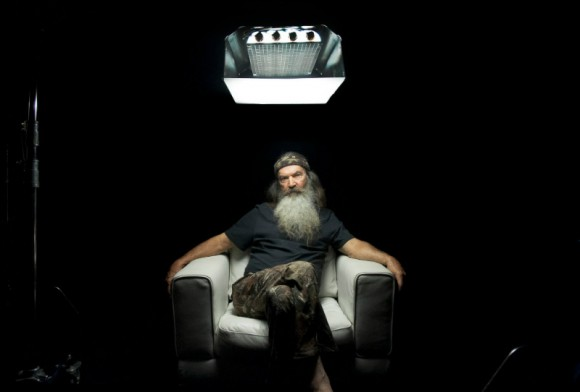 "Phil Robertson in ""I Am Second"" video testimony."