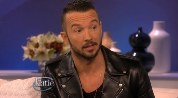 "Hillsong NYC Pastor Carl Lentz on ""Katie""."