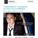"Nicolas Cage on ""Left Behind"" set as Rayford Steele."