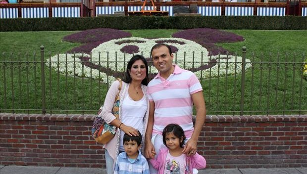 Iranian-American Pastor Saeed Abedini and his family. Abedini is currently imprisoned in Iran.