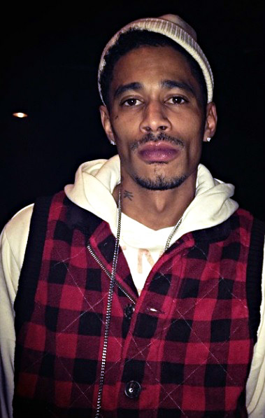 Layzie Bone of Bone Thugs-n-Harmony. There's speculation that he might be a born again Christian after featuring on a track with Christian rapper Surenda.